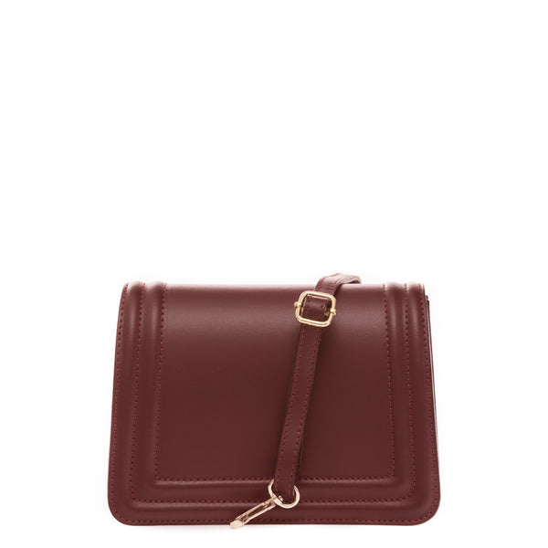 Dark Red Handbag & Crossbody
