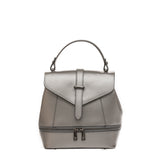 Silver Backpack Bag