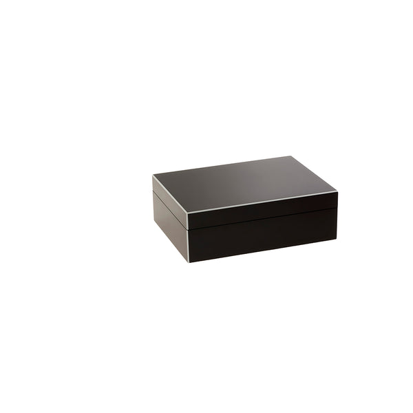Lacquered Brown Box Small