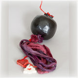Black Ceramic Pomegranate