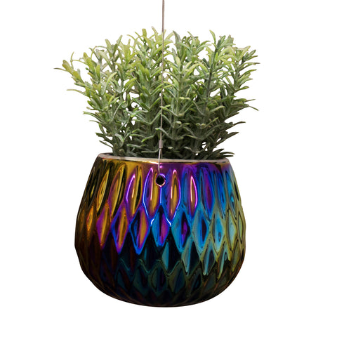 products/Oil_Slick_Rhombus_Hanging_Ceramic_Pot.jpg