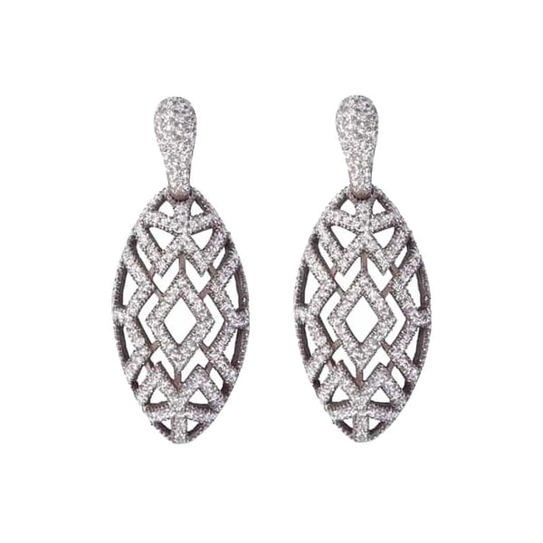 Pendant White Kamelite Earrings
