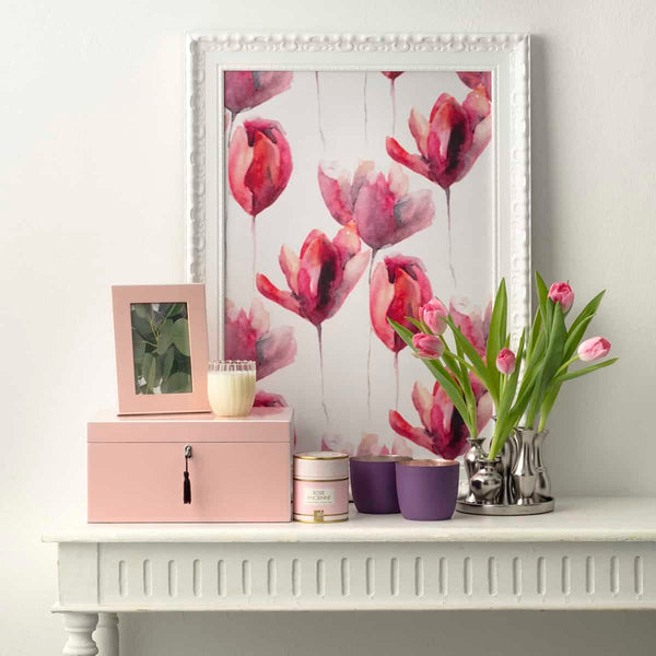 Lacquered Blush Frame
