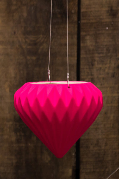Pink Diamond Hanging Pot
