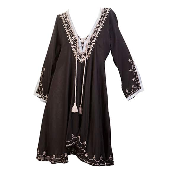 Tunic Leila Black