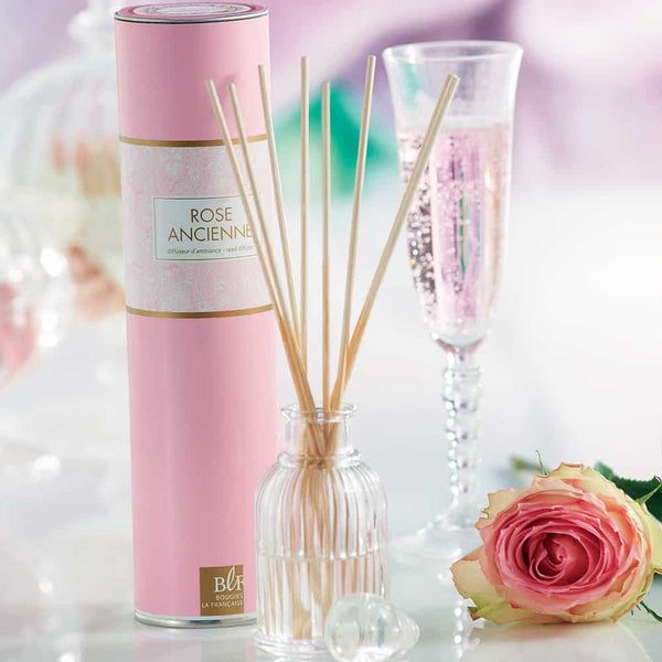 "Perfume diffuser with Stems ""Rose Ancienne"""