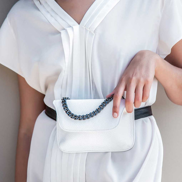 Alkmene Belt Bag White