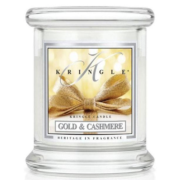 Gold & Cashmere Candle by Kringle, Medium Size