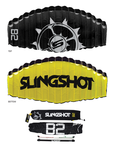 Slingshot B2 2 Meter Trainer Kite with Free Kiteboarding Intro Course