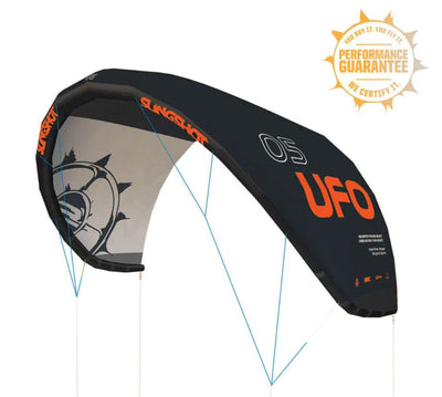 2021 Slingshot UFO Kite Version V1.1 Black Edition
