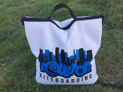 1-Houston Kiteboarding Logo Sand Bag