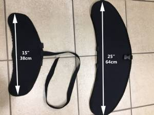 Neoprene High Aspect Hydrofoil Wing Covers