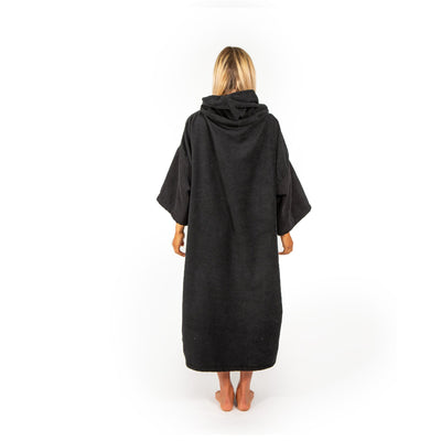 Ride Engine Jedi Robe -Black Changing Towel