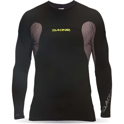 Dakine Polybro Snug Fit Men's Long Sleeve Rashguard -W17 Black