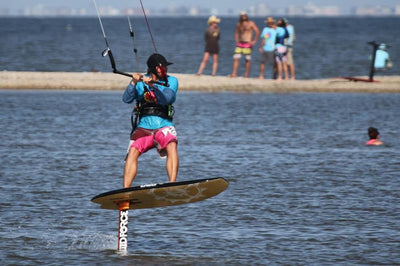 Hydrofoil Kiteboarding Lessons: Per Hour