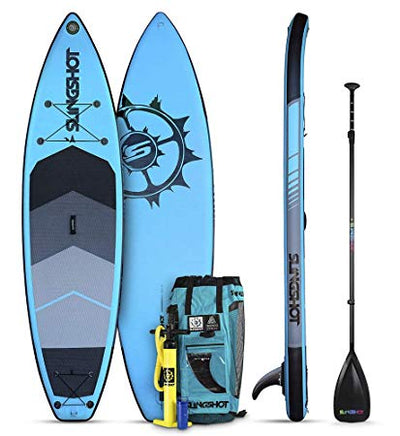 Slingshot Crossbreed Inflatable SUP Blue
