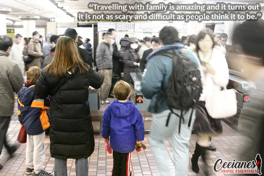 Tips On Travelling with The Entire Family