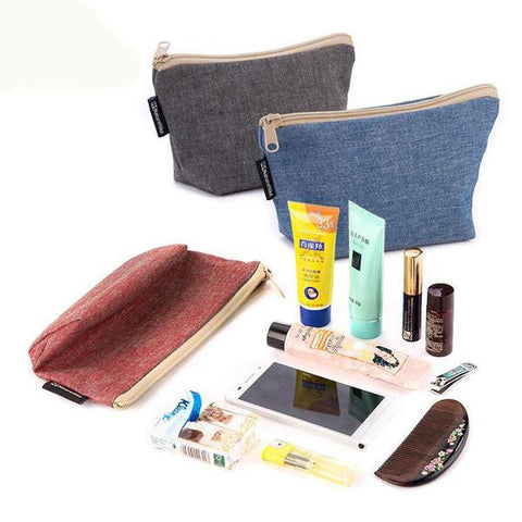 Canvas Bag Travel Kit
