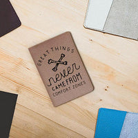 Comfort Zone Leather Passport Cover