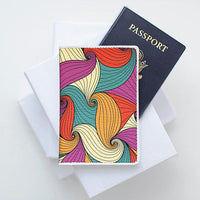 Colorful Leather Passport Cover