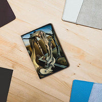 Salvador Dali Art Leather Passport Cover