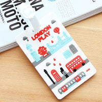 Bonjour Paris Luggage Tag