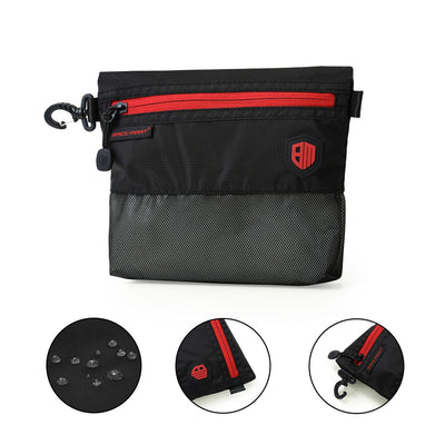 Black Mesh Travel Bag- 2Pcs