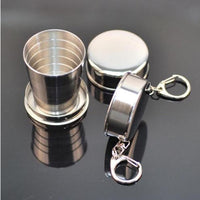 Collapsible Travel Steel Glass