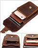 Horse Leather Waist Pack for Men | Belt Bag