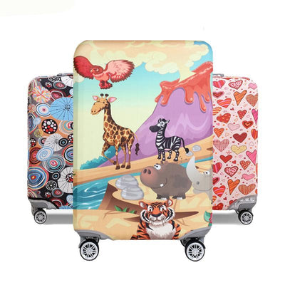 Animal World Luggage Cover