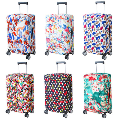 Polka Luggage Cover