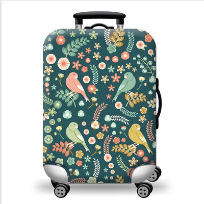 Jungle Birds Luggage Cover