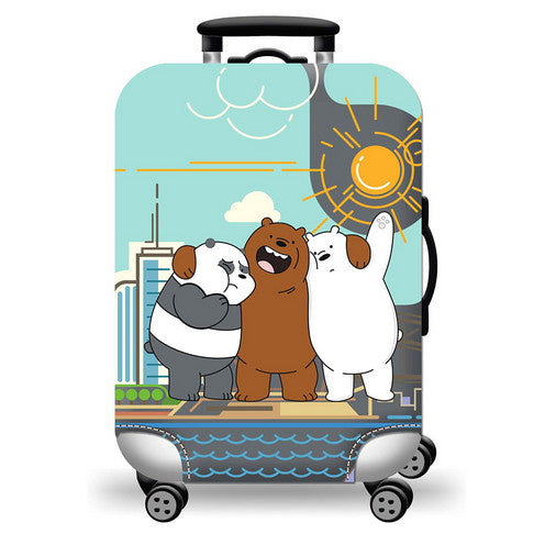 Best Friends Luggage Cover