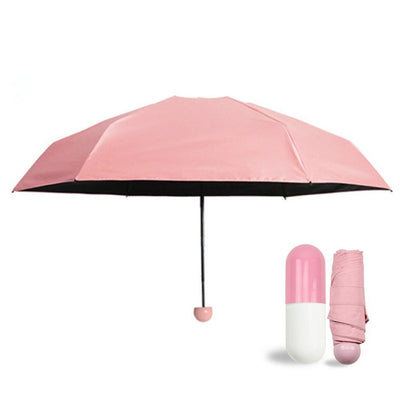 Capsule Umbrella | Mini Umbrella | Travel Essentials
