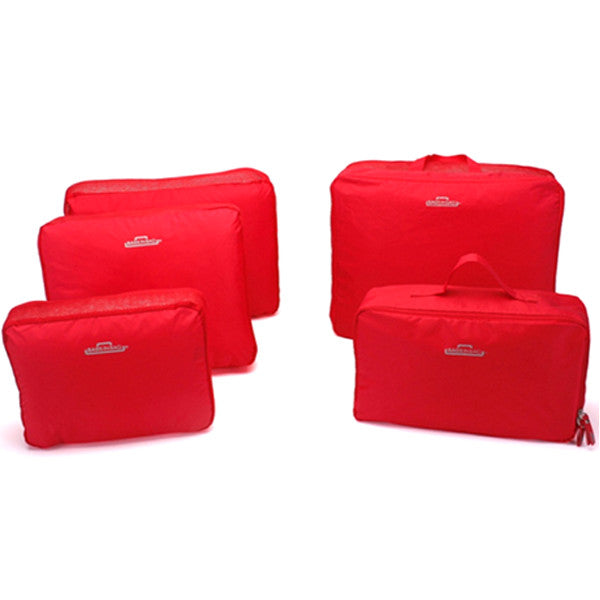 Travel Bag Organizer Set - 5Pcs