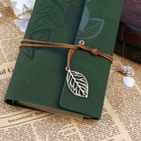 Vintage Leaves II Travel Journal