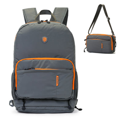 Gray Travel Backpack
