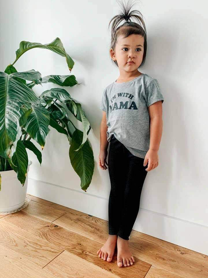 Kids Leggings - Black