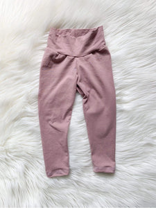 Kids Leggings - Soft Blush