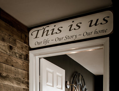 This is UsOur life - Our story - Our home