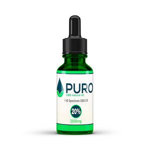 Natural CBD Oil - 2000mg (20%) - 10ML, 30Ml, 50Ml Available