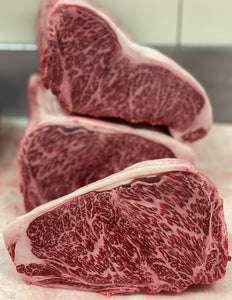 Australian Full Blood Wagyu Strip BMS9+ - Alpine Butcher