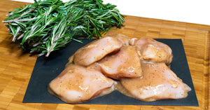 Antibiotic-Free Olive Oil Vinaigrette Chicken Breasts - Alpine Butcher