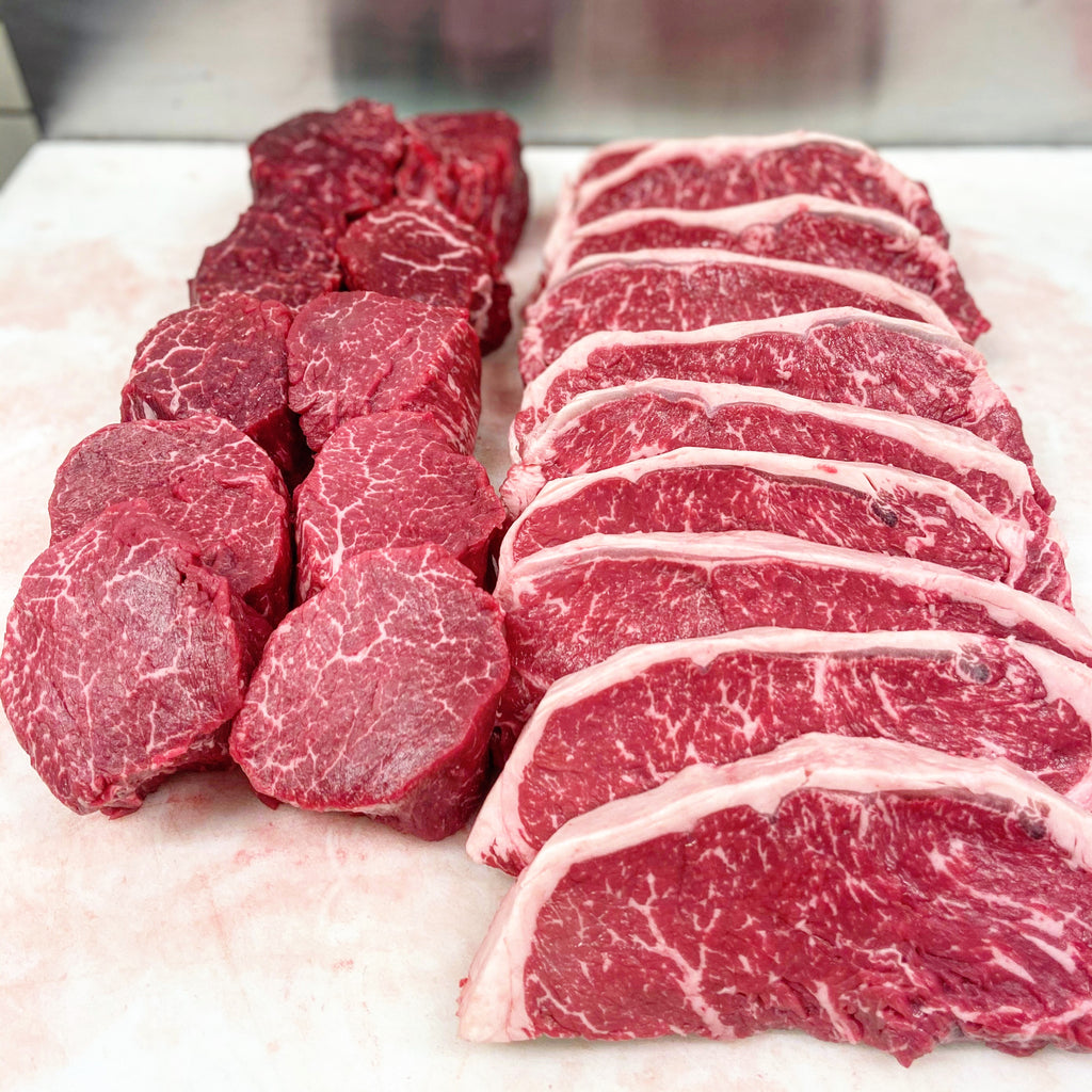Tenderloin and Strip Package - Alpine Butcher