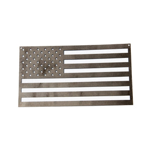 Finished Steel American Flag