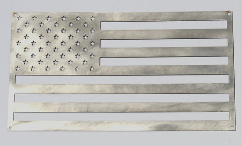 Stainless Steel Classic American Flag