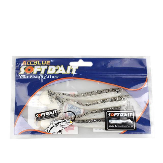 Minnow Bait Swimbaits Plastic Lure