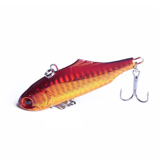 1Pcs 7.5cm 24g winter VIB fishing lure