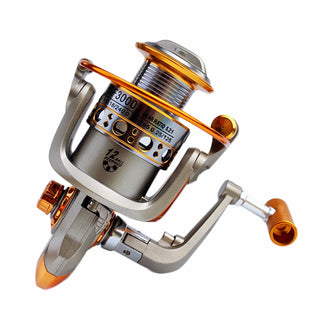 Aluminum Metal Spinning Boat Fishing Reel