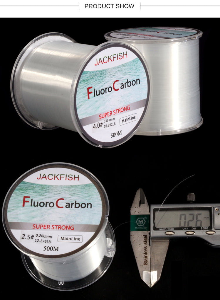Fluorocarbon Line Clear Fly Fishing Line
